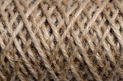 Skein of thread sacking for texture Royalty Free Stock Photography