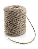 Skein tow rope. On white background Royalty Free Stock Images