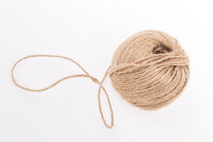 Skein on white Royalty Free Stock Photo