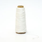 Skein of white thread Stock Photography