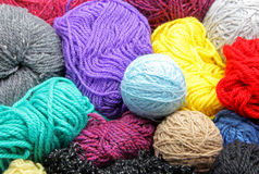 Skein of wool Royalty Free Stock Images
