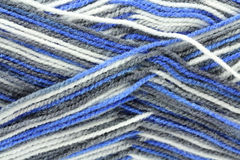 Skein of wool for knitting  background Royalty Free Stock Photos