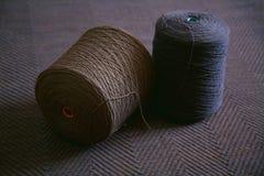 Skein of wool yarn Royalty Free Stock Image