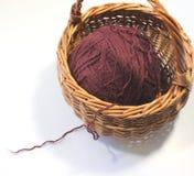 Skein of wool yarn Royalty Free Stock Photos