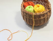 Skein of wool yarn Stock Image