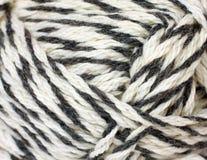 Skein of yarn melange closeup Stock Photos