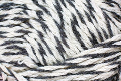 Skein of yarn melange closeup Stock Image