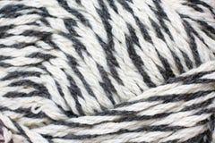 Skein of yarn melange closeup Stock Image