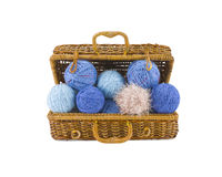 Skeins in coffer Royalty Free Stock Photos