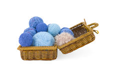Skeins in coffer Royalty Free Stock Photography