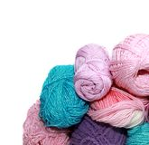 Skeins for crochet Stock Photography