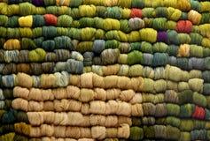 Skeins de lãs dos carneiros Imagem de Stock