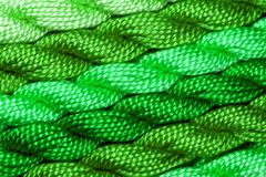Skeins of embroidery yarn Stock Images
