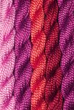 Skeins of embroidery yarn Stock Photography