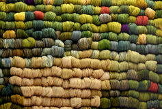Skeins of sheep  wool Stock Image