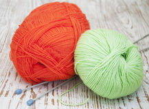 Skeins of thread Royalty Free Stock Photo