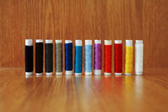 Skeins of thread Stock Images