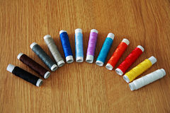 Skeins of thread Royalty Free Stock Photography