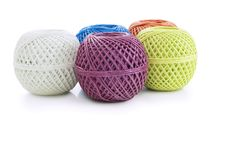 Skeins twine Stock Image