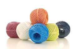 Skeins twine Royalty Free Stock Images