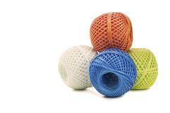 Skeins twine Royalty Free Stock Photos