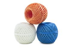 Skeins twine Stock Photo