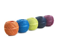 Skeins twine Stock Photos