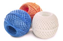 Skeins twine Royalty Free Stock Photo