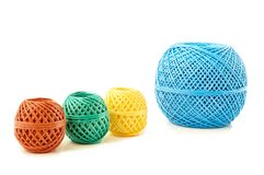 Skeins twine Stock Images