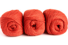 Skeins of wool Stock Photography