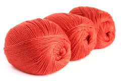 Skeins of wool Royalty Free Stock Image