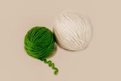 Skeins of wool Stock Image