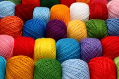 Skeins of yarn Royalty Free Stock Photo