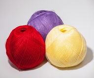 Skeins of yarn Stock Photo
