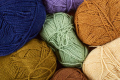 Skeins of yarn Stock Images