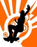 skejter Fotografia Royalty Free