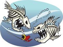 Skelefish stock illustration