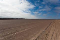Skeleon wybrzeża droga Zdjęcie Royalty Free