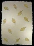 Skeletachtig Patroon 1 van Bladeren royalty-vrije stock foto