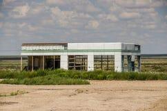 Skeletal Service Station Stock Photography