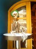 skeletgast stock foto's