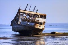 Skeletkust - Indonesië Stock Foto
