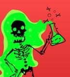 Skeleton Ätzmittel vektor abbildung