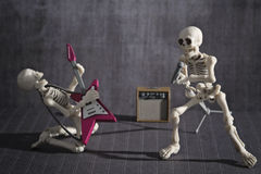Skeleton Band stockbild