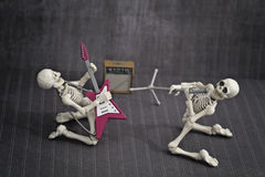 Skeleton Band Royalty Free Stock Photography