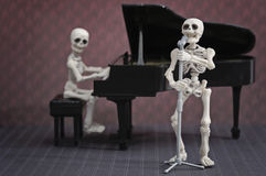 Skeleton band Royalty Free Stock Images