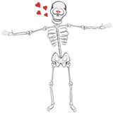 Skeleton Buddy Stock Image