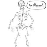 Skeleton Buddy Royalty Free Stock Photos