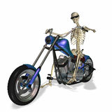 Skeleton Chopper 2 Stock Image