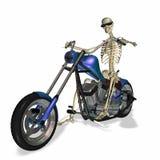 Skeleton Chopper 2 Stock Image